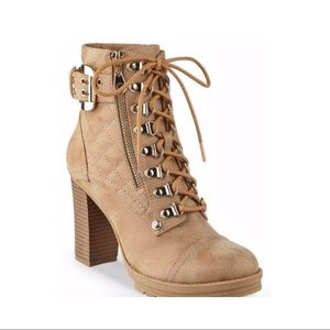 G by Guess heeled bootie. Size 6.